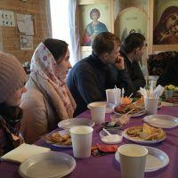 Встреча молодежи Выборгского благочиния